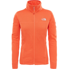 The North Face W's Kyoshi Full Zip Jacket Nasturtium Orange